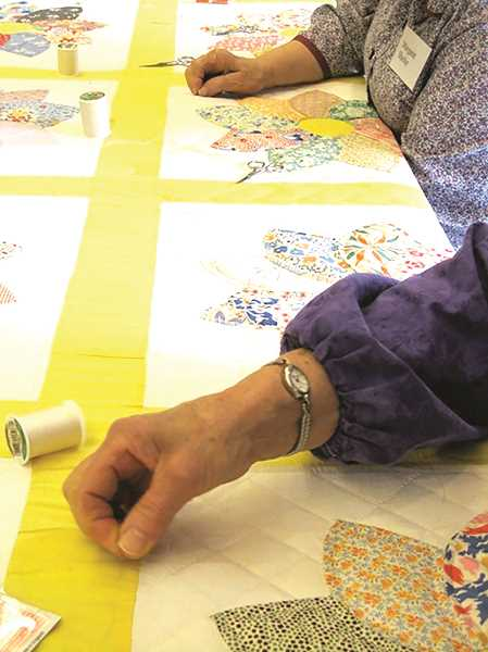 Quilts and quilt-making apparatus will be part of this year's Quilting Workshop at Zion Mennonite Church.