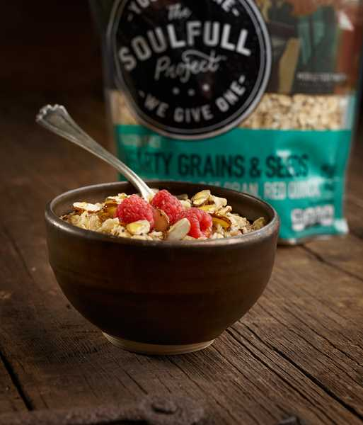 Soulfull Project cereals are made of non-GMO products of all natural grains. Some varieties are gluten free, all are sugar free. They are easy to prepare with just water.