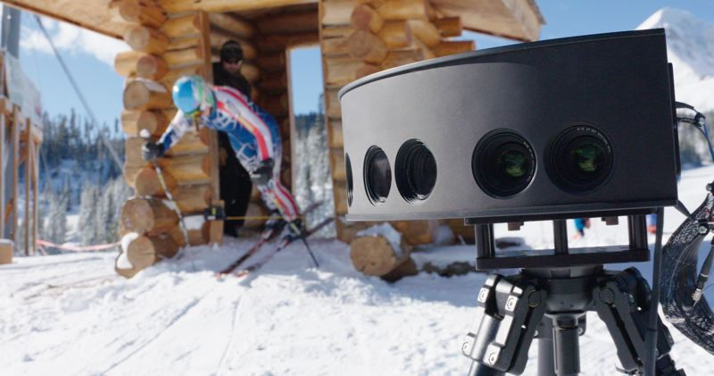 COURTESY: INTEL - Cameras for Intel True VR lets viewers ride down a ski jump and feel the stomach churning fear of sailing 200 meters through the air. Whether we will be as interested in their How I Made It biographies remains to be seen.