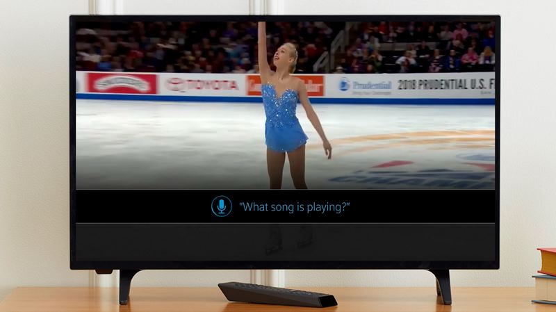 COURTESY: COMCAST - Constantly refreshed medal tables are part of the promise of the Xfinity service for Winter Olympics fans, as is voice search for details such as background music.