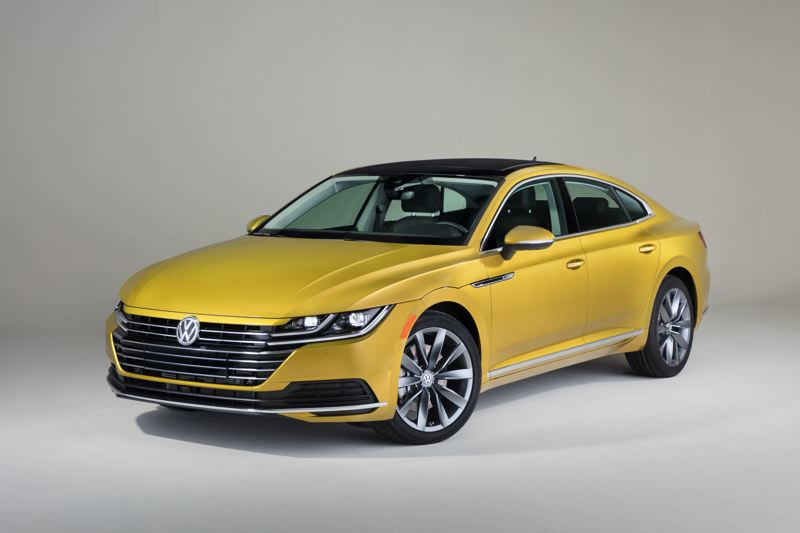 COURTESY VOLKSWAGEN - The Arteon will be powered by a 2.0-liter turbocharged four-cylinder engine mated to an 8-speed automatic transmission. It will be available with front-wheel-drive or all-wheel-drive.