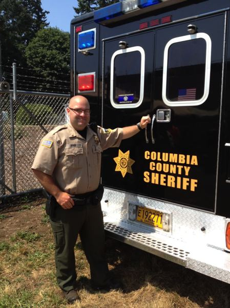 COLUMBIA COUNTY SHERIFFS OFFICE PHOTO - Dustin Hald submitted a resignation letter, effective Feb. 1. He was on paid administrative leave at the time.