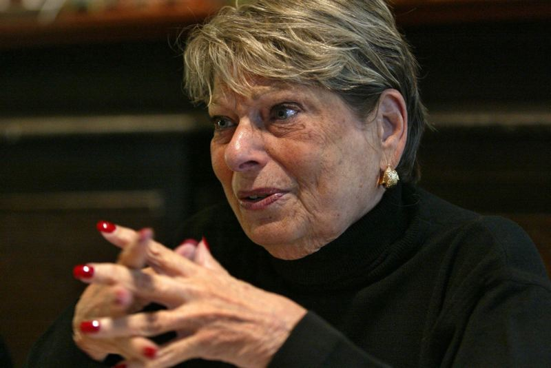 PAMPLIN MEDIA GROUP FILE PHOTO - Former Portland Mayor Vera Katz, who died in December, will be memorialized by a House resolution introduced this week in Salem.