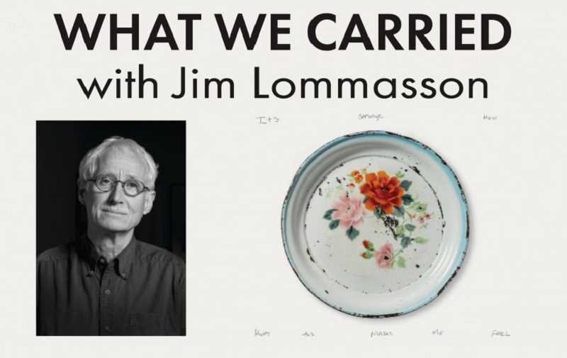 COURTESY PHOTO - Photographer Jim Lommasson will discuss What We Carried: Fragments and Memories from Iraq and Syria.