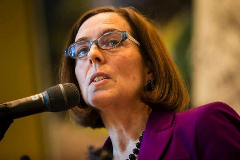 FILE PHOTO - Gov. Kate Brown.