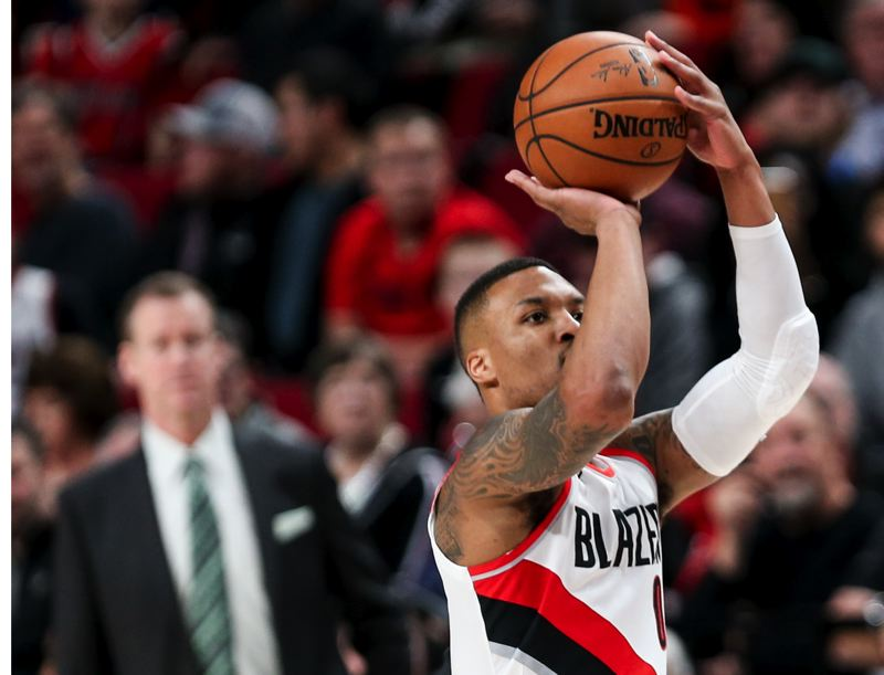 TRIBUNE FILE PHOTO: DAVID BLAIR - LILLARD