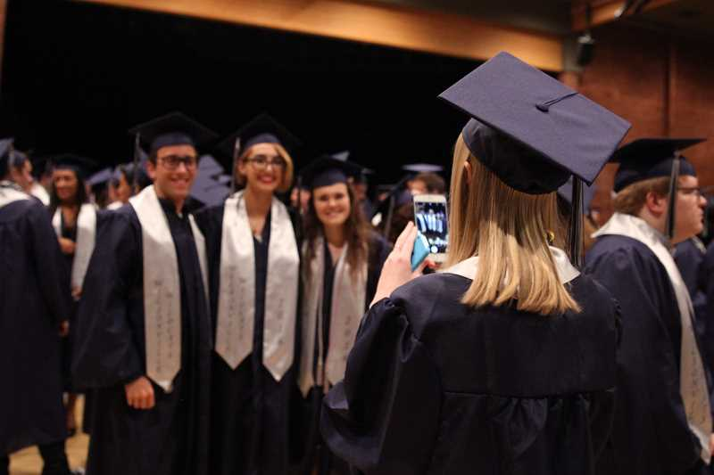 SPOKESMAN FILE PHOTO - Wilsonville High School finished No. 2 in the state for the highest percentage of students graduated in four years.