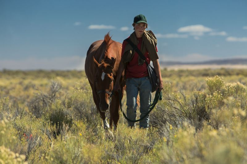 COURTESY: SCOTT GREEN/A24 - Actor Charlie Plummer is a teen who embarks on a journey with a stolen racehorse in 'Lean on Pete,' the latest Oregon-made film to debut. A screening is set for Feb. 28 in Portland; it's out in theaters March 30.