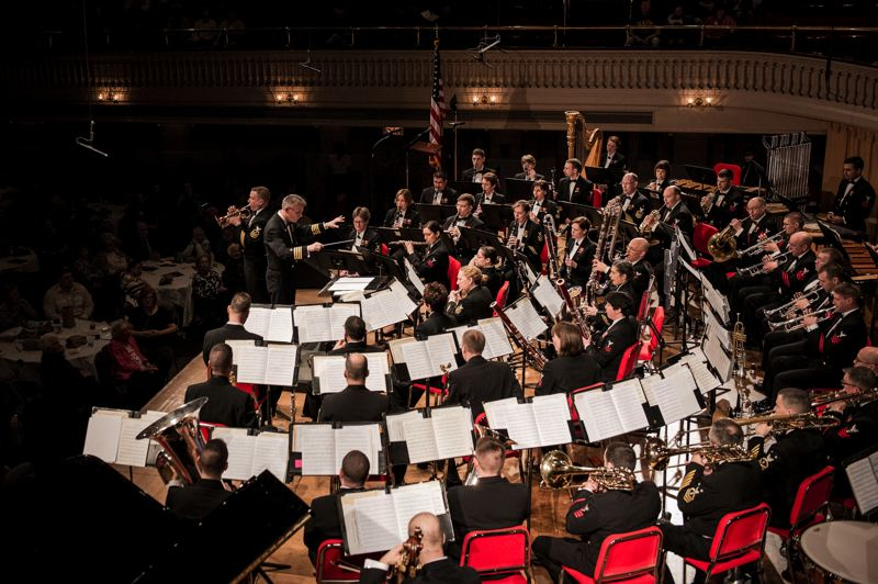 COURTESY PHOTO - The U.S. Navy Band is coming to Portland for a concert, Saturday, Feb. 17.