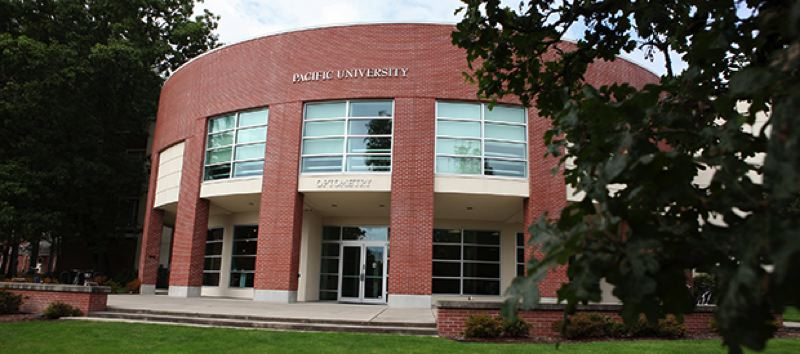 COURTESY PHOTO: PACIFIC UNIVERSITY - Jefferson Hall currently hosts Pacific University's College of Optometry in Forest Grove.