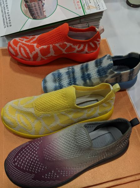 PAMPLIN MEDIA GROUP: JONATHAN HOUSE - Knitted fabric based on Nikes Flyknit concept was everywhere, as were foam soles based on Adidas Boost.