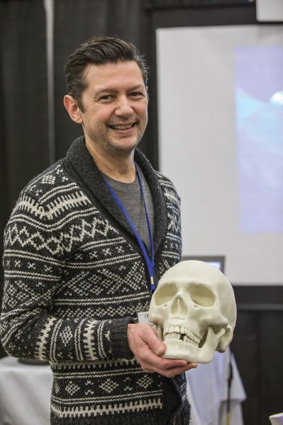 PAMPLIN MEDIA GROUP: JONATHAN HOUSE - Troy Konigwilcox, VP at sculpture firm Form, with a skull that shows how far 3D printing has come, and the Portland maker scene.