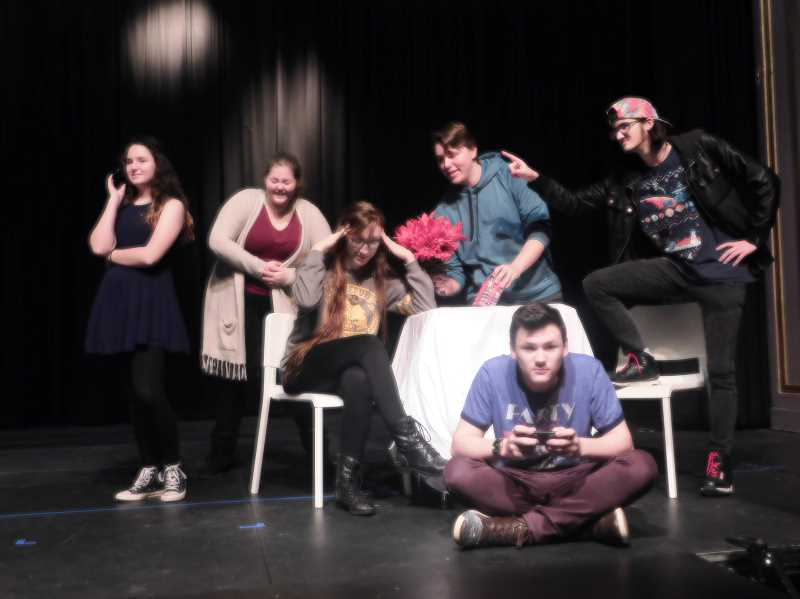 ESTACADA NEWS PHOTO: EMILY LINDSTRAND - 'Check, Please, Take Two,' directed by Kamie Tenbush, tells the story of a series of bad dates.