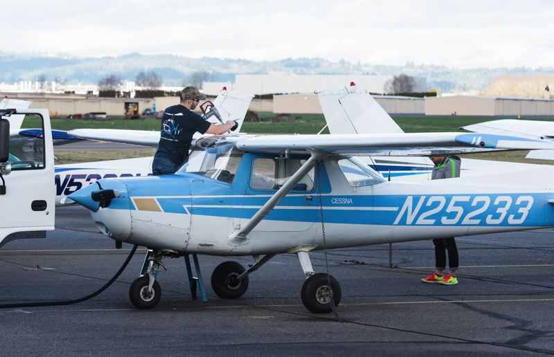 STAFF PHOTO: CHRISTOPHER OERTELL - Hillsboro Aero Academy and Mt. Hood-based Windells Academy will offer a new curriculum this summer aimed at training young pilots to meet an ever-growing demand.