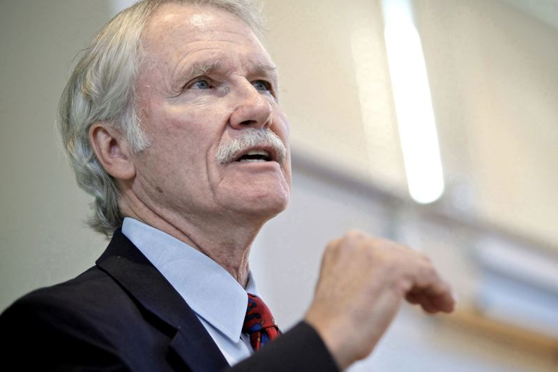 NICK BUDNICK/PAMPLIN FILE PHOTO - Former Gov. John Kitzhaber
