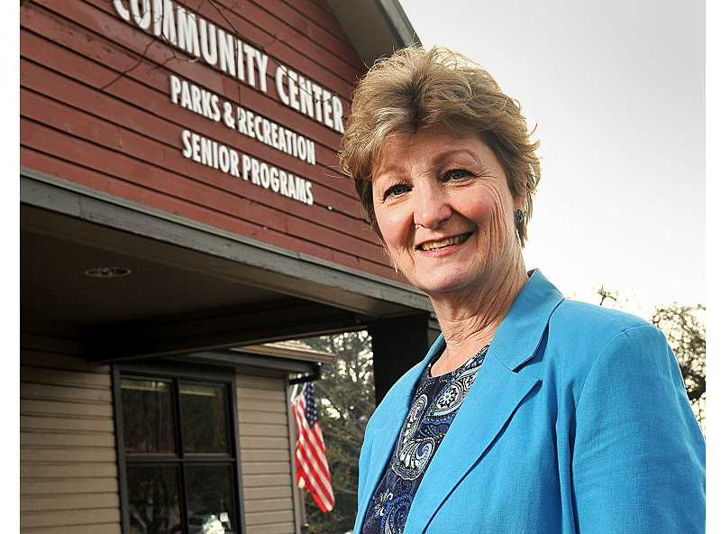 SPOKESMAN PHOTOS: VERN UYETAKE - Sue Woebkenberg is the coordinator for the AARP tax assistance program at Wilsonville Community Center.