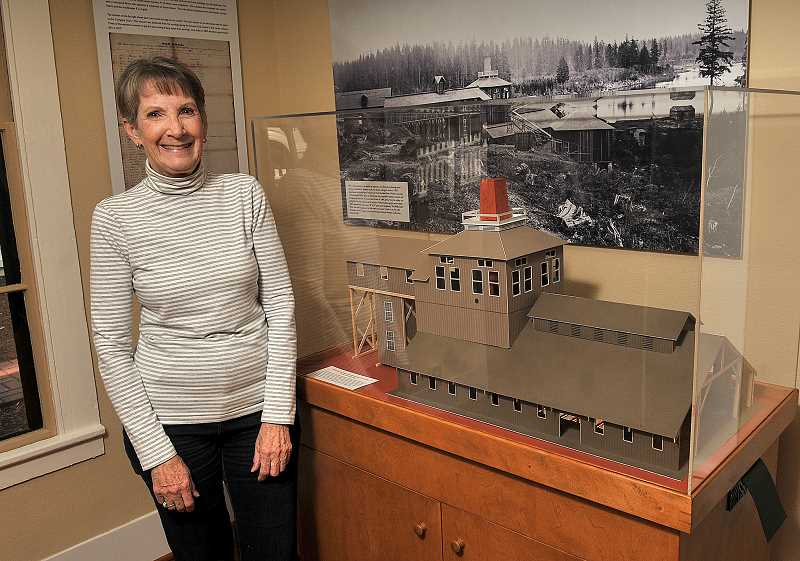 REVIEW PHOTO: VERN UYETAKE - Local historian Susanna Kuo will lead the third Speaking mof History lecture, focused on Oswegos iron industry. Kuo also curated the current exhibit at the museum, which spotlights the era.