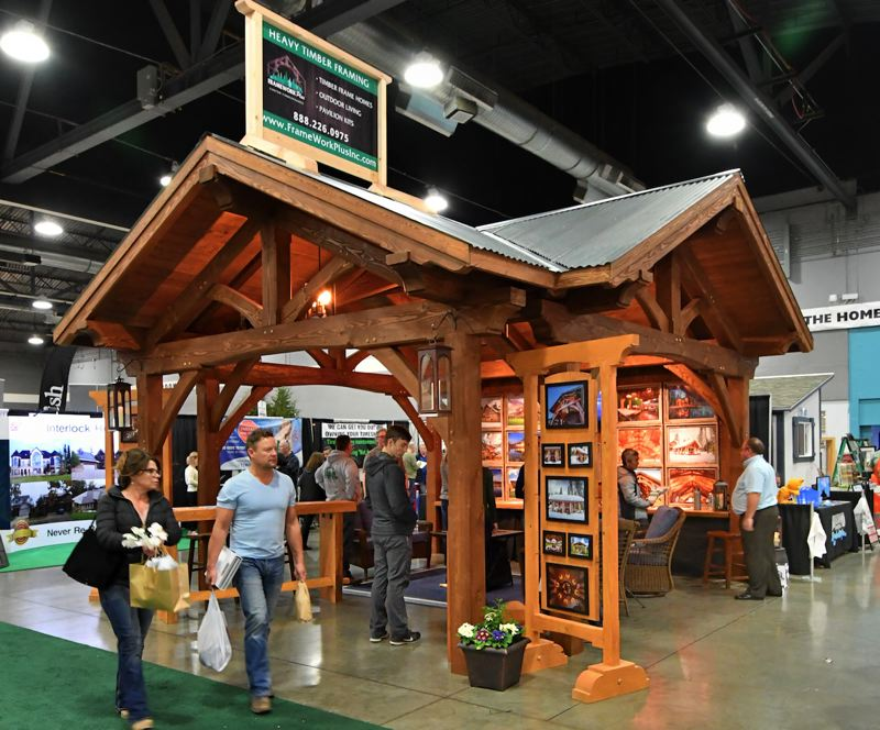 COURTESY: HOME BUILDERS ASSOCIATION OF PORTLAND - As well as picking out products, such as stone or kitchen finsihes, show goers and contractors who would perform the work can meet face to face and get a read on each other.