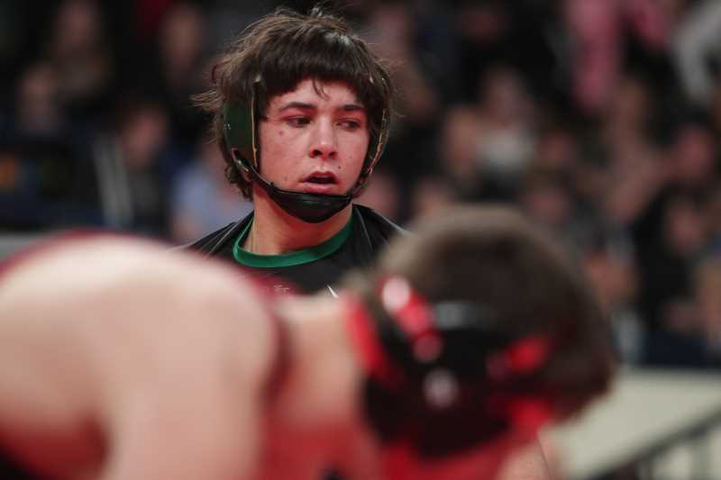PHIL HAWKINS - Russel Stigall's two state titles moves him past his father, Ford, and brother, Tyler, who won one title each. Russel's two titles matches that of his brother, Jake, and is one behind brother Lane Stigall's three titles.