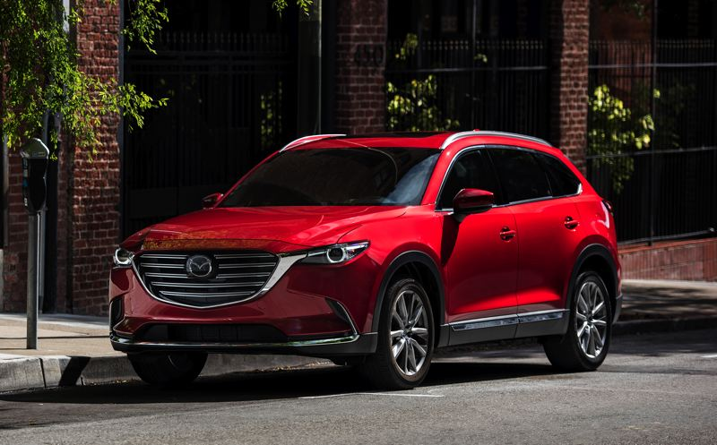 COURTESY MAZDA - Mazda's 'KODO: Soul of Motion' design philosophy makes the 2018 CX-9 one of the most beuatiful vehicles of any kind.