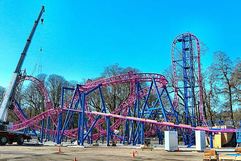 DAVID F. ASHTON - Welcome to the latest attraction at The Oaks: The Adrenaline Peak Roller Coaster.