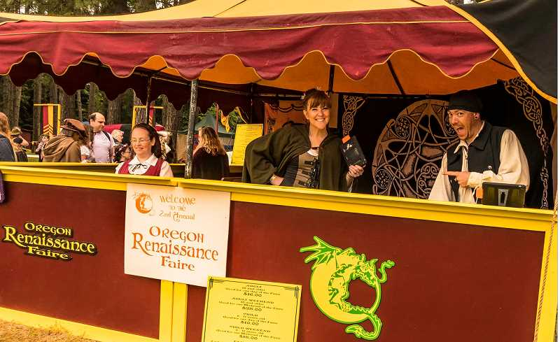 The Oregon Renaissance Faire is looking for area volunteers to help with this year's two-weekend run.