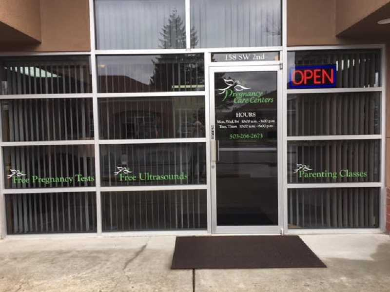 COURTESY PHOTO - The Pregnancy Care Centers of Molalla and Canby are now located at 158 SW Second Ave. in Canby.