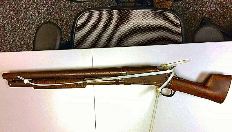 COURTESY OF PORTLAND POLICE BUREAU - Police say this was the weapon used in the armed robbery of a Brentwood-Darlington neighborhood store.