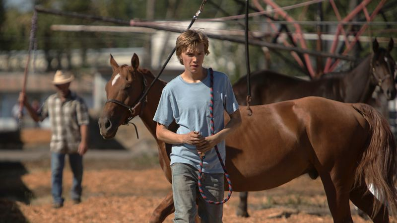 COURTESY PHOTO - One of Willy Vlauntin's books, 'Lean on Pete,' has been turned into a movie, starring Charlie Plummer, and it opens in theaters in late March; it screens at the Portland International Film Festival on Feb. 28.