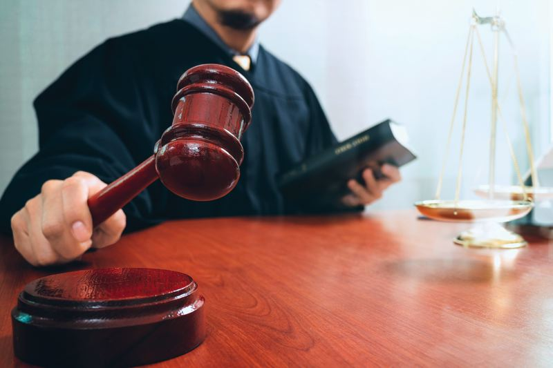 DREAMSTIME PHOTO - Oregonians do not have much faith in the justice system to fairly resolve civil or criminal cases, according to a new DHM Research survey.