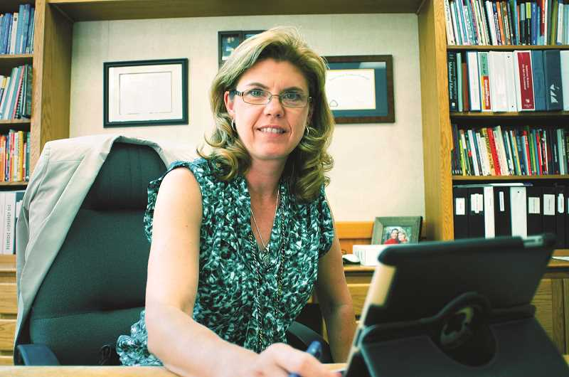 GRAPHIC FILE PHOTO - Newberg School Superintendent Kym LeBlanc-Esparza will return to her native Colorado at the end of the school year after serving for six years in the district.