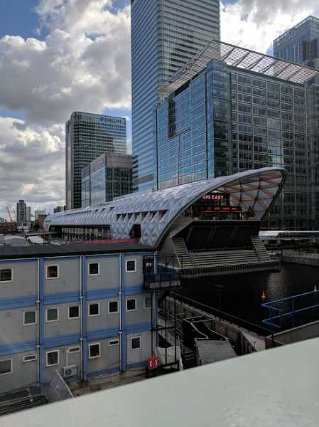 "PHOTO CREDIT: TYLER THAYER - Thayer's favorite building in London was the Crossrail Palace, which he called ""a modern take on the traditional rail station."""