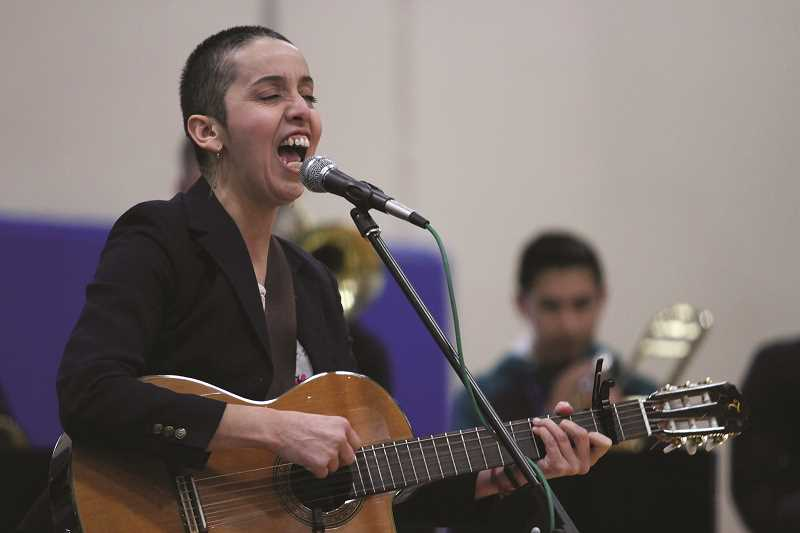 PHIL HAWKINS - Vazquez moved to the Portland area as a teenager in the late 90s and made a name for herself as one of the first female singers in the mariachi scene in the Pacific Northwest.