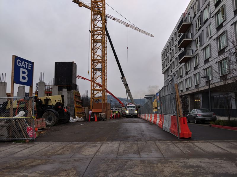 PAMPLIN MEDIA GROUP: JOSEPH GALLIVAN - The hotel site is located directly north of the Oregon Convention Center and is anticipated to open in late 2018. Foundations are being poured now.