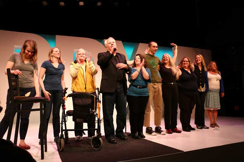 SUBMITTED PHOTO  - Stand Up for Mental Health comedy troupe will present the final program in Lake Oswego Reads, which focused on Good Morning, Midnight. Mental health is a theme of the novel.