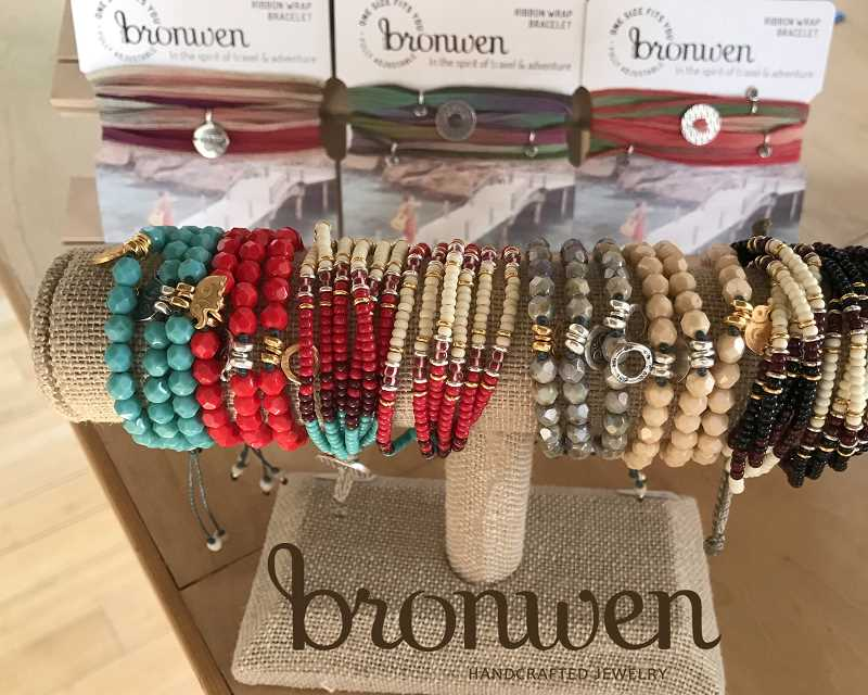 A collection of Bronwen Handcrafted Jewelry will be shown at the trunk show planned for 2-6 p.m. on March 1 at Brave Collective in Lake Oswego.