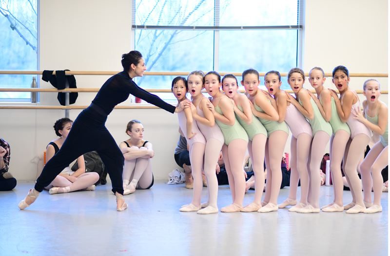 COURTESY: YI YIN/OBT - Dozens of kids, led here by dancer Martina Chavez, from the Oregon Ballet Theatre School have parts in 'Alice (the wonderland).' Says principal dancer Brian Simcoe, of OBT taking on the fairy tale: 'I think fans will love it. ... It's very refreshing.'