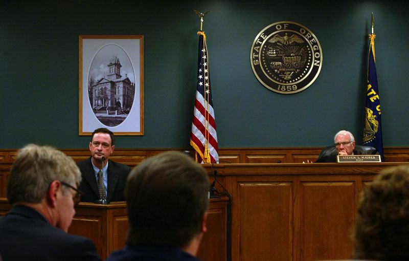 PAMPLIN MEDIA GROUP: FILE PHOTO - The Honorable Judge Steven Maurer presiding over the interior of the current Clackamas County Courthouse.