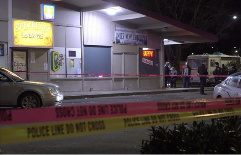 COURTESY PHOTO: KOIN 6 NEWS? - A man was shot after a confrontation at Speakeasy Lounge.