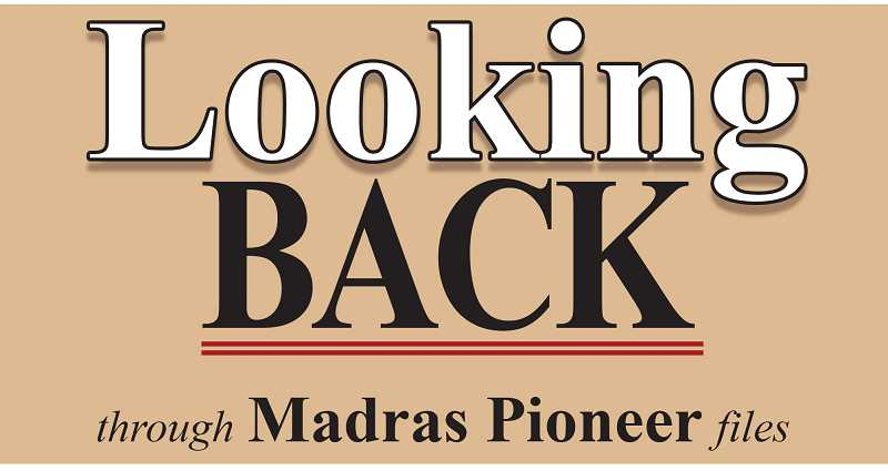 MADRAS PIONEER LOGO - Looking Back at this week in 1918, 1943, 1968 and 1993.