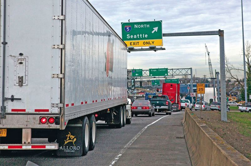 PORTLAND TRIBUNE FILE PHOTO - So-called variable-rate tolls are believed to reduce traffic congestion.