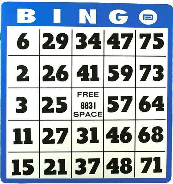 Bingo set for the Donald Fire Station.