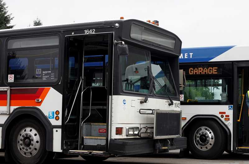 FILE PHOTO - TriMet has announced spring improvements to its newest bus line, Line 42-Denney/Hall, which will benefit both Tigard and Beaverton riders.