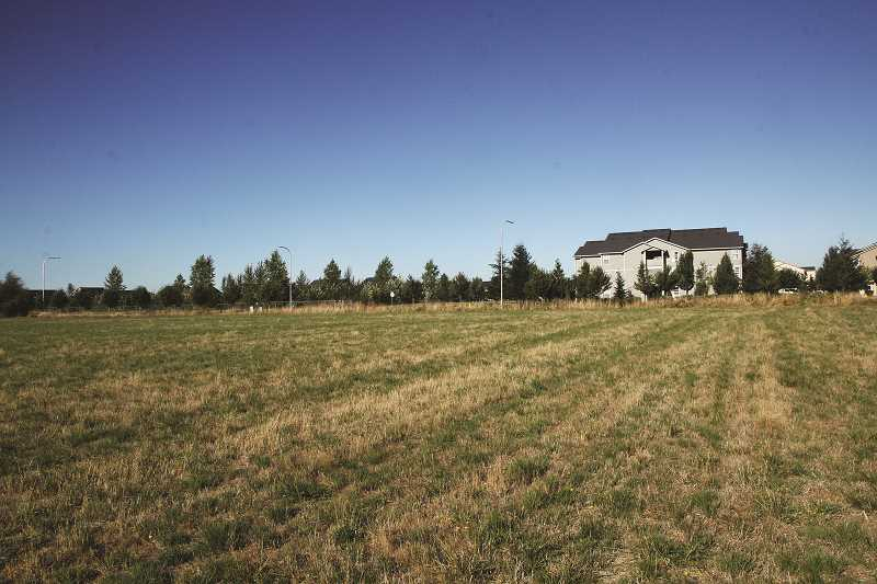 INDEPENDENT FILE PHOTO - Immanuel Lutheran Church purchased this land in 2006 with plans to have a church built. Now the eight-acre parcel on Evergreen Road is being reconsidered as a gathering place for the community as a whole.