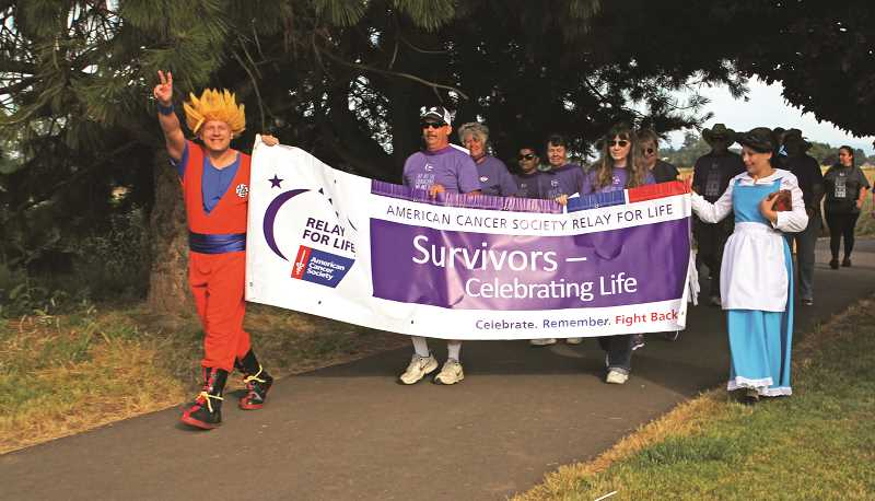 Pamplin Media Group Woodburn Relay For Life Transforms Into
