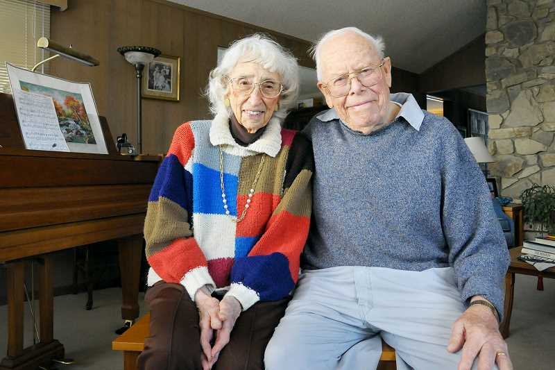 GARY ALLEN - Frances and Floyd Severson were married in 1944 six weeks after they met in California and just before he shipped out on a Navy attack transport ship. The couple, both in their 90s, have been married for 73 years and have nine children, 41 grandchildren and 87 great-grandchildren.