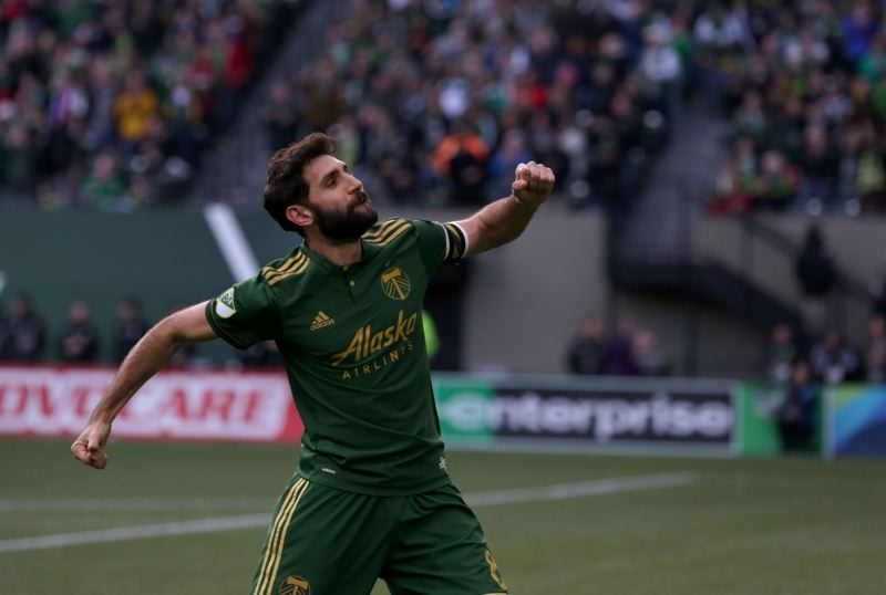 TRIBUNE FILE PHOTO: JONATHAN HOUSE - Reigning MLS Most Valuable Player Diego Valeri returns to bolster the Portland Timbers' chances in 2018