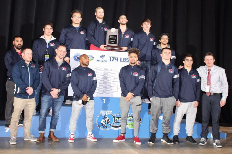 CLACKAMAS COMMUNITY COLLEGE PHOTO - Clackamas Community College's wrestling team produced seven All-Americans and placed second behind Northeastern Oklahoma A&M at the NJCAA national championships in Council Bluffs, Iowa.