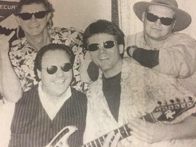 ARCHIVE PHOTO - In 1998, High Desert Surf would soon play in Estacada. The band consisted of Blaine Moody, Johnny Lee Kyllo, Chris Kouba and Ray Misley.