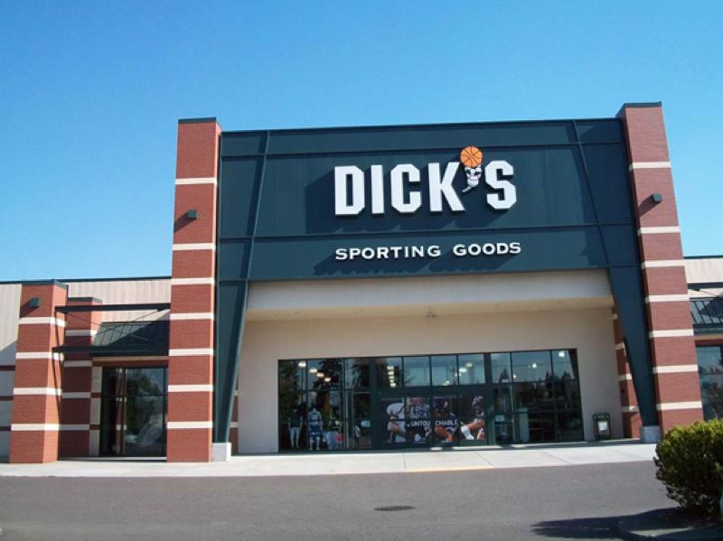 COURTESY PHOTO: DICK'S SPORTING GOODS - Dick's Sporting Goods store on Southwest Boones Ferry Road in Tualatin is one of the company's five Portland-area stores. It has not sold semi-automatic military-style weapons since 2012.